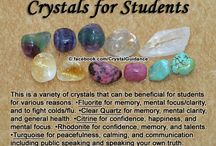 Crystals/Gems---uses, meanings, and cleaning