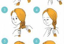 como hacer peinados
