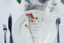 Setting a holiday table / by Shelley Ludman