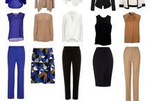 Klädtyger Beige, brun, blå