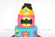 superhero girl cake