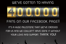 4 lakh fans and still growing! / We're delighted to announce that we now have 4 lakh fans on our Facebook page. 