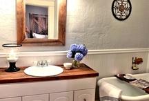 Bathroom redo!  / by Lauryn Johnson