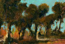 landscape / digital images showing painted landscapes and unreal land-escapes