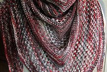 Scarves, haps and shawls