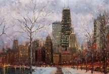 Art/Paintings-Architectural,Cityscapes Genre / by Mary Anne Wallman