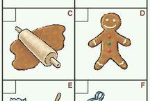 kurabiye yapımı görsel çocuklar için