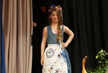 Upcycled Alice in Wonderland 2015 / Images from the creative process and the show