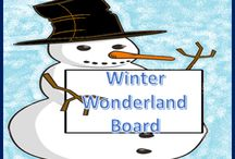 Winter Learning Wonderland / This board features teacher resources and activities related to winter.  I will be pinning all of the best winter learning resources and activities on this board!  #teachers #winter #resources #activities #lessonplans #tpt