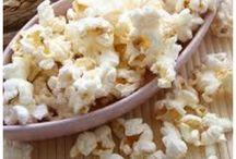 Popcorn met stevia / suikervrij popcorn maken