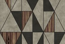 Geometrical lingerie / Righe, quadrati, linee che continuano a ripetersi in un pattern geometrico su slip e reggiseni.