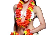 Hawaiian & Summer Beach Party / Get into the spirit of summer with our range of Hawaiian fancy dress and accessories!