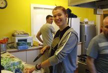 Salvation Army Christmas Dinner  / On Thursday 19th December, eight team members from Hard Rock Cafe Edinburgh joined The Salvation Army serving Christmas dinner to homeless people in the city.