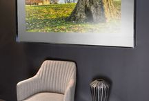 Nereus Mirror TV / Mirror TV's create a focal point in any room and are a great way of hiding a TV.