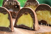 chocolates; bombons.