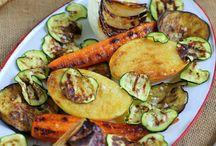 asados de verduras