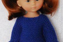 Lucie et sa poupée Camille