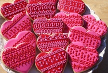 Heart cookies and much more  / Decorated excepionally cookies