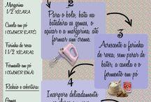 Comidas italianas bolo