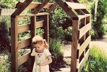 Garden for grandchildren