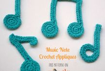 Applique crochet