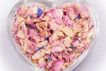 Real Petal Confetti / Beautiful Natural Biodegradable Real Petal Confetti