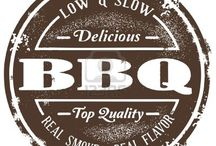 The LOVE of BBQ Signs. / BBQ signs are as unique as the BBQ itself.