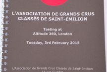 Tournée des Grands Crus Classés de Saint Emilion / Février 2015 / Londres - Zürich - Genève