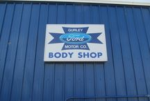 Our Body Shop / Check out the Body Shop at Gurley Motor Company in Gallup, NM! We can fix all of your damage, even paint! We will also be fully equipped to work on the all new aluminum body Ford F-150!