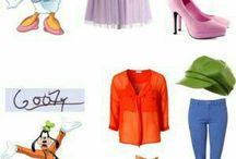 Disneybounding Streetwear