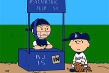 Dodgers ⚾️⚾️⚾️ / by Laura Goodloe