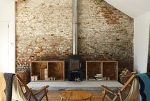 The Beauty of Brick / cool brick walls and ideas