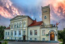 """Rekowo Górne - Pałac Wieniawa / Pałac w Rekowie Górnym wybudowany pod koniec XIX wieku. Obecnie mieści się w nim Hotel """"Wieniawa""""."""