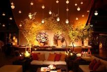 Ornamentação / Arranjos florais, iluminação, paisagismo e decoração em geral para casamentos