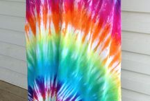 Tie Dye / My obsession with Hippy chic.