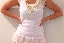 Tops / Lace Tops, Vintage Lace, Boho Style, Ageless Style, Beach Style