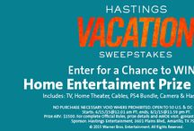 Sweepstakes / Enter to WIN at gohastings.com / by Hastings Entertainment
