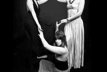 So PoP ! / 3 filles So PoP qui font de la musique So PoP, avec des instruments So PoP!!!  Photographie/Stylisme/Make-up : Myriam Azencot #americanapparel