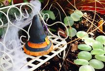 Halloween Fairy Gardens / Some of the new Halloween accessories that we have available in our garden center!