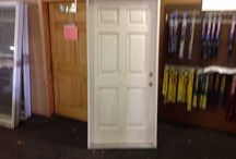Doors / HOOD'S West Alton has received some doors.  Some have windows and other doors do not.  Purchase you home renovation supplies from HOOD'S.