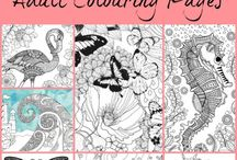 adult coloring book for free