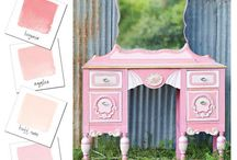 Pretty in Pink with Heirloom Traditions Paint