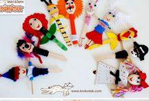 κούκλες κουκλοθεατρου