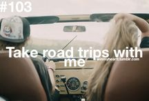 Road Trip Away From Reality.. / escape to where ever you want to be... / by Grace Knee