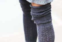 Socks and Warmers /  Design inspiration and where-to-find: Hosiery, socks, legwarmers.  Ethical and sustainable when I can find 'em!