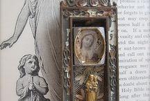 religious art and santos