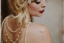 Modern Gatsby / Inspiration for Great Gatsby with a modern spin