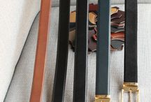 Leather belts / https://www.facebook.com/media/set/?set=a.10152076557539844.1073742040.94355784843&type=1  #accessories #buczynskitailoring #buczynski #leather
