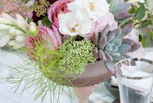The Floral Centerpieces