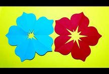 BASKET-FLOWERS,PAPER